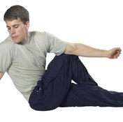 Stretching can help release lactate buildup following exercise.
