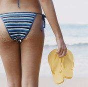 Weight loss will help remove excess fat from your buttocks.