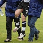 Injured athlete.