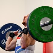 Perform military presses correctly to reduce the stress on your elbows.