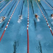 Split times are used to determine the pace of swimmers.