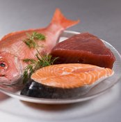 Fish contain omega-3 fatty acids that keep your body and mind in working order.