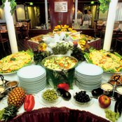 All-you-can-eat buffets contribute to weight gain on cruises.