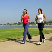 Jogging burns calories and aids in weight loss.