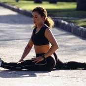 Splits improve the flexibility in your hips and thighs.