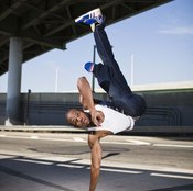 Breakdancing requires strength and agility.