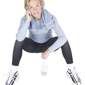 Overall weight loss can help you get rid of unwanted leg fat.