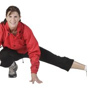 Your cool down should include stretches to keep your muscles from becoming sore.