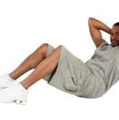 The crunch strengthens all the abdominal muscles.