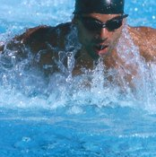 Swimmers use both slow- and fast-twitch muscle fibers in all race distances.