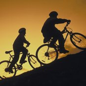 Taking a bike ride helps raise HDL cholesterol.