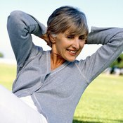 Tightened stomach muscles after 50 are possible with exercise.