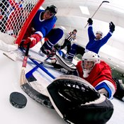 A hockey player can burn an entire day's calories in one game.
