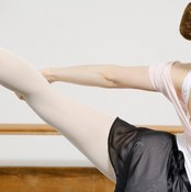 Arabesque requires a strong, supple back.