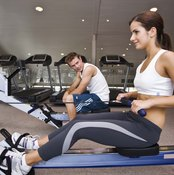 Rowing offers less impact and provides more muscle use than running.