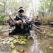 Army Rangers must be extremely fit to conduct their missions.