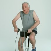 Exercise bikes provide a low-impact workout.