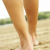 Losing weight from your legs and calves takes perseverance.