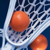 Extend a lacrosse ball's life by cleaning it after every use.