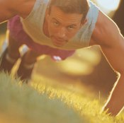 Even if you're physically able, avoid performing an excessive number of pushups.