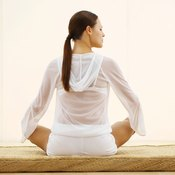Comfortable underwear is important when performing yoga.