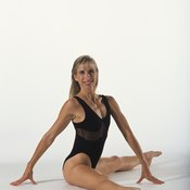 Contracting and relaxing your leg muscles while breathing deep will relieve stress.