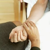 You can take someone's pulse on the inner wrist.