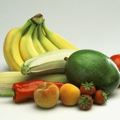 Raw fruits and vegetables form the basis for the Isha Yoga diet.