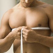 Measure your chest in its natural state.