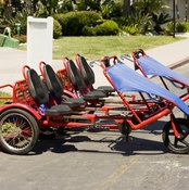 Recumbent cycles even come in tandem versions.