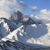 High altitudes make breathing more difficult.