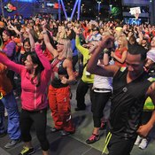 A Zumba workout is energy in action.