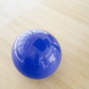 Stability balls benefit a child's mind and body.