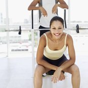Seated heel raises are intense, so plan to rest between sets.