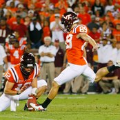 Field goal kicking requires precision and flexibility.