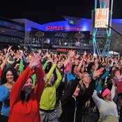 Zumba and other Latin cardio classes draw big crowds.