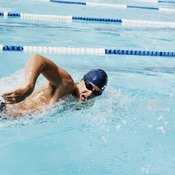 A consistent pace helps reduce fatigue when swimming a half mile.
