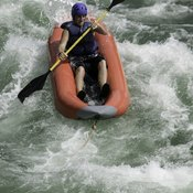 Rafting provides an aerobic workout without involving your legs.