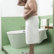 Chest and belly fat are a common problem for men.