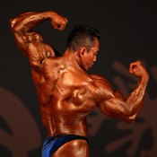 Testosterone is a hormone that plays an important role in muscle hypertrophy.