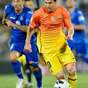 Lionel Messi brings two decades, rather than two weeks, of foot skills to his game.