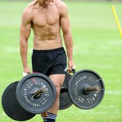 Farmers walks are an excellent grip exercise to boost your deadlift.