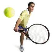Bending your knees helps create reactive power in your strokes.