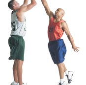 Basketball jumps can cause calf muscle tears.