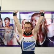 The shoulder press hits all your upper body pushing muscles.