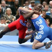 The NCAA prohibits college wrestlers and other athletes from using sauna suits.