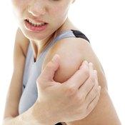 Supine serratus anterior exercises can help prevent shoulder pain.