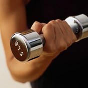 Start with light weight until you build sufficient strength in the deltoid.