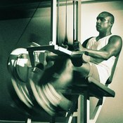 Your reverse leg curl machine may have handholds or thigh braces too.
