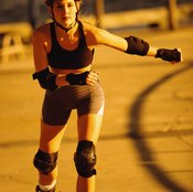 Knee pads can help you skate more confidently.